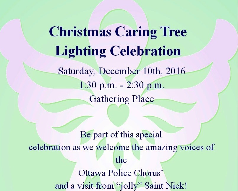 Caring Tree Lighting Celebration