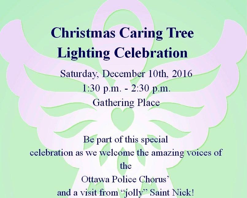 Caring Tree Lighting Celebration