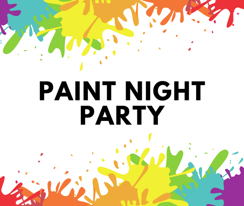 Paint Night Party