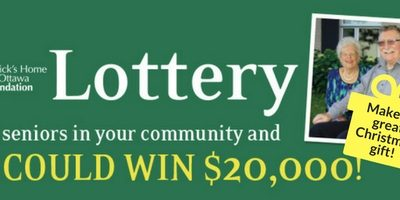 Lottery tickets now on sale!