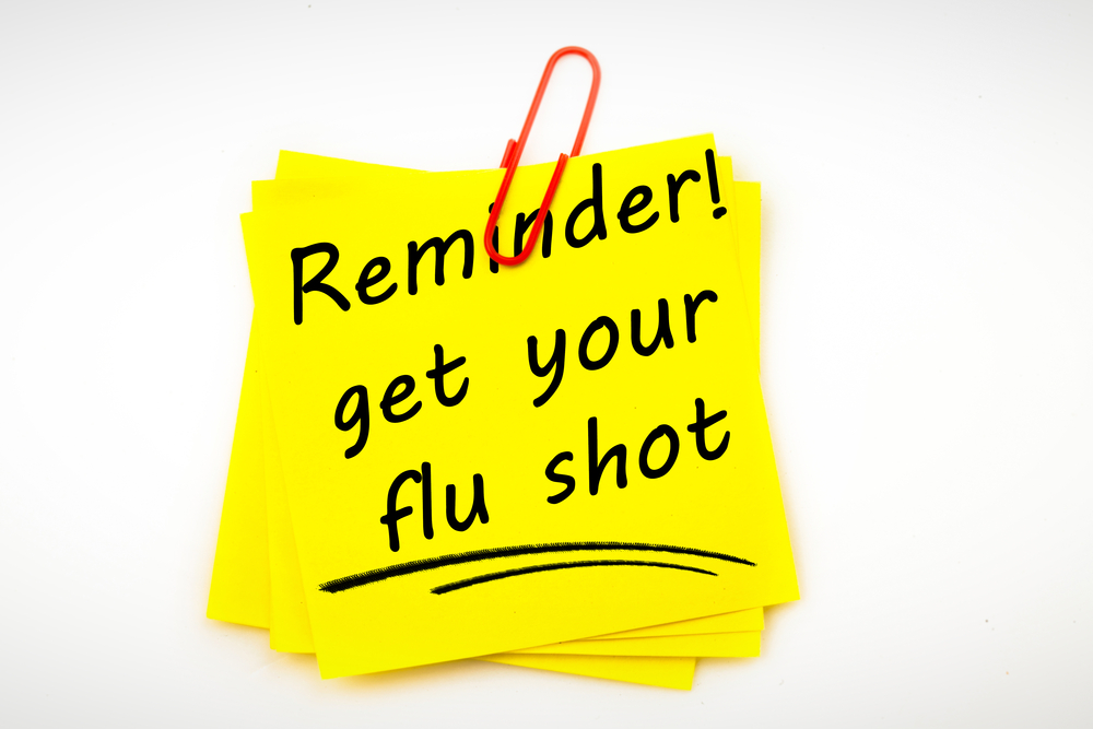 Get your flu shot!