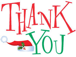 "Thank You ""Santa for Seniors"""