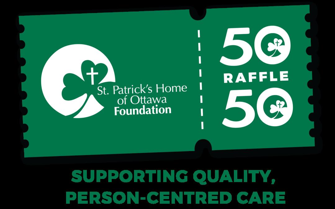 St. Pat's Foundation – 50/50 Raffle